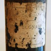 Vieux Cognac Clos de Griffier 1788, with the label of the Cafe Anglais.